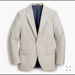J. Crew Seersucker Ludlow Collection - Full Suit